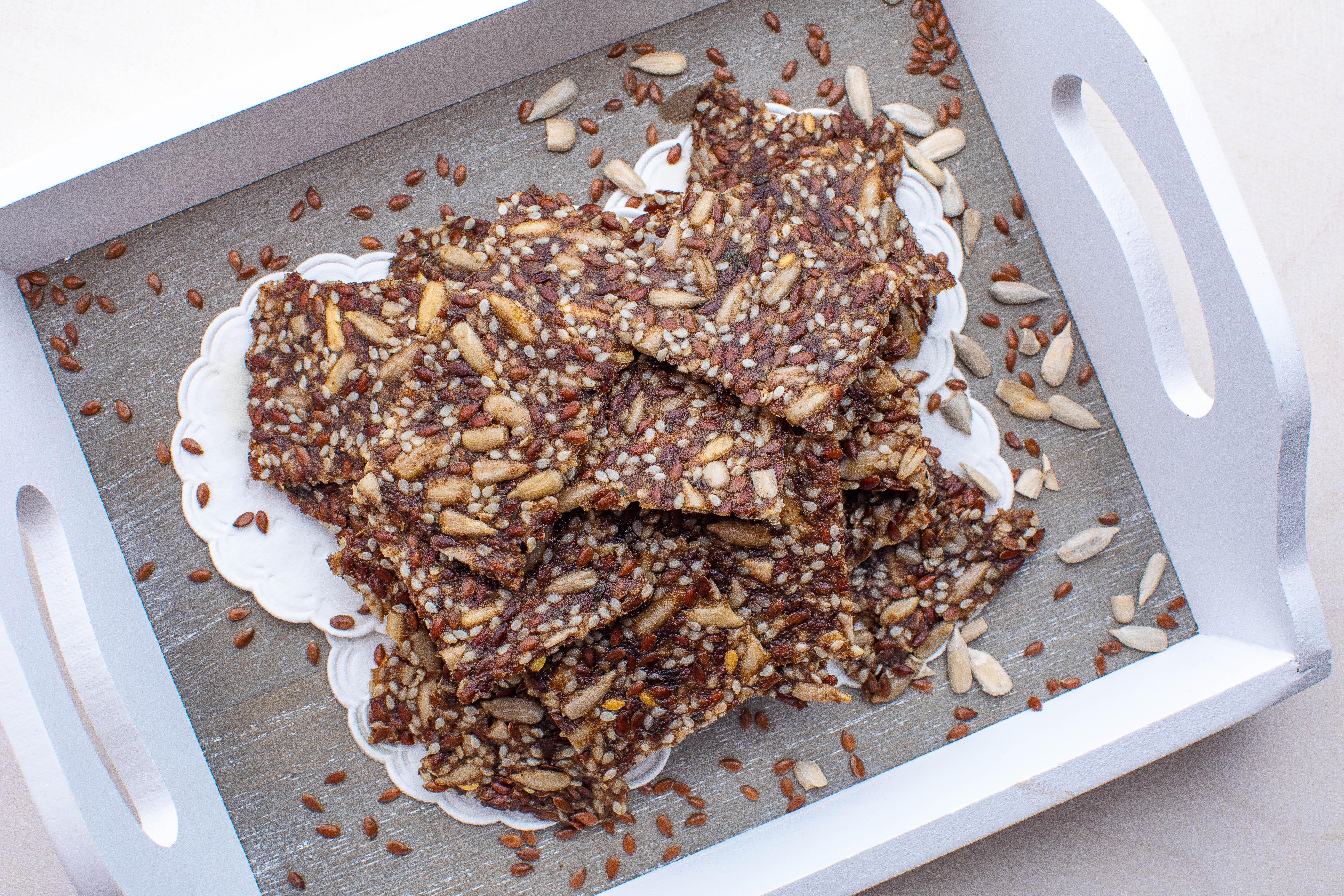 Keto seemneküpsised (toor või küpsetatud)