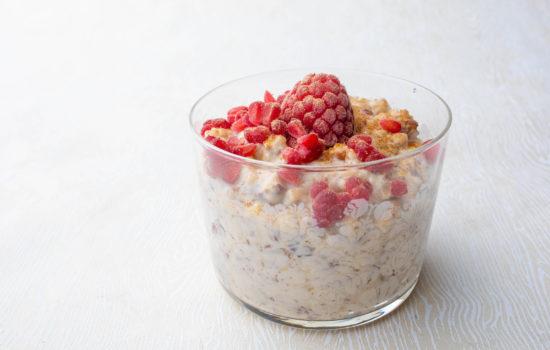 False oatmeal keto porridge