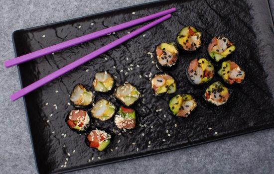 No-rice keto sushi