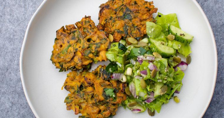 Kikerherne ja köögiviljadega vegan kotletid
